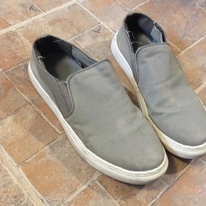 Urban Outfitters distressed slip on sneaker size 8